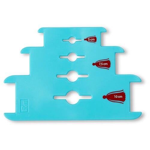 Купить Prym Устройство для изготовления кистей Love (624191) бирюзовый, Инструменты и аксессуары