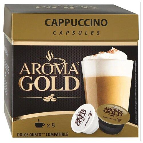 Фото - Кофе в капсулах Aroma Gold Cappuccino (16 капс.) кофе в капсулах absolut drive латте маккиато 16 капс