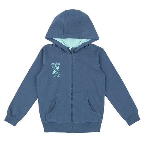 Толстовка Leader Kids размер 98, темно-синий кеды для мальчика flois kids цвет темно синий fl ra17205 pbt 6 размер 27