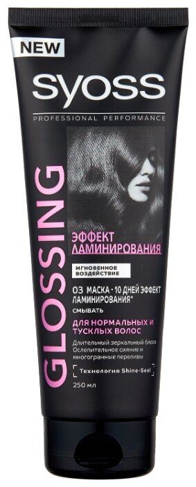Syoss GLOSSING Маска для волос