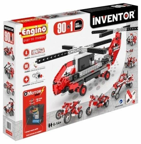 Электромеханический конструктор ENGINO Inventor Motorized 9030-90