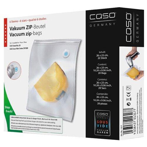 Caso Пленка 26x23 для вакуумного упаковщика бесцветный 20 шт.