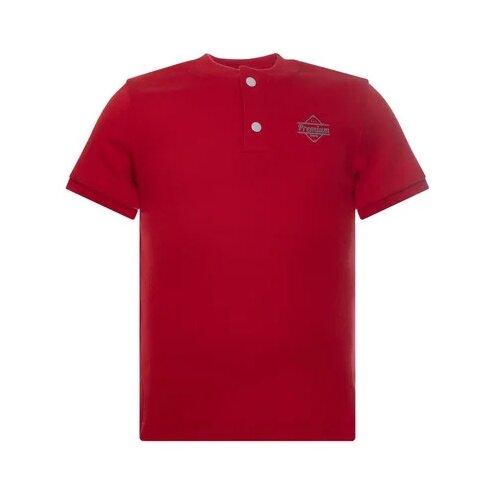Купить Футболка Утенок, размер 92, красный премиум, Футболки и рубашки