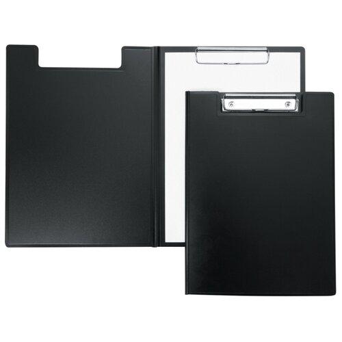 Купить Berlingo Папка-планшет с зажимом А4, пластик черный, Файлы и папки
