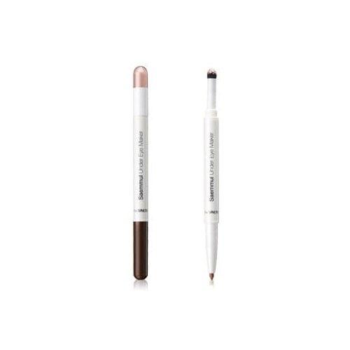 цена на The Saem Карандаш для глаз Saemmul Under Eye Marker, оттенок 02 Glam Pink
