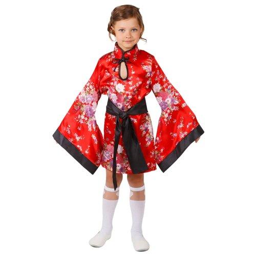 Костюм Маскарад у Алисы Китаянка, красный, размер 28(116)
