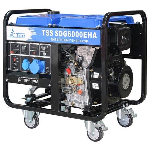Дизельный генератор ТСС SDG 6000EHA (6000 Вт)