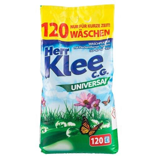 Стиральный порошок Herr Klee Universal универсальный пластиковый пакет 10 кг стиральный порошок la mamma универсальный 2 кг пластиковый пакет