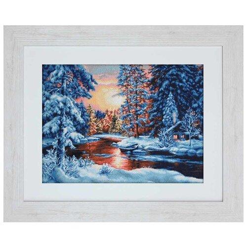 Фото - Luca-S Набор для вышивания Зимний закат, 36 х 26 см, G477 luca s набор для вышивания щенок 8 х 10 см b088