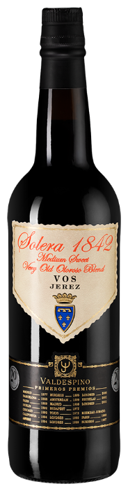 Херес Valdespino Oloroso Solera 1842, 0.75 л