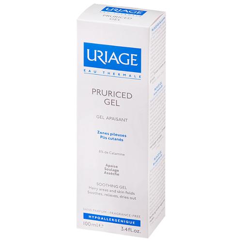 Гель для тела Uriage Pruriced Gel успокаивающий с противозудным действием, 100 мл прурисед противозудный успокаивающий кремэмульсия 100 мл uriage pruriced
