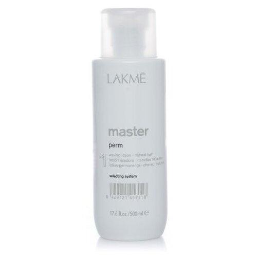 Lakme Лосьон для завивки натуральных волос Master Perm Waving Lotion 1, 500 мл ducray неоптид лосьон от выпадения волос для мужчин 100 мл