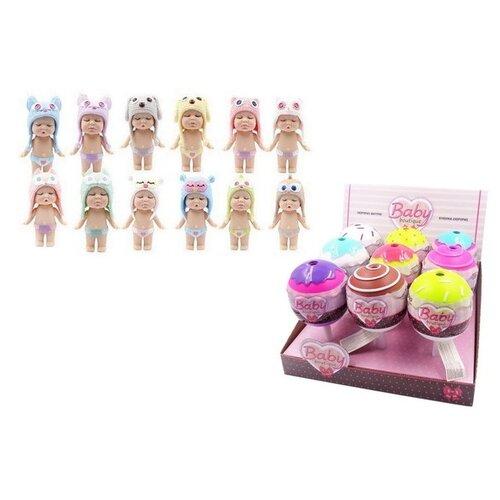 Купить Пупс в капсуле ABtoys Baby boutique, 8 см, PT-01066, Куклы и пупсы