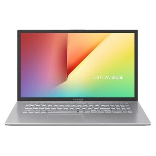 Купить Ноутбук ASUS VivoBook 17 X712FA-AU646T (Intel Core i3 10110U 2100MHz/17.3 /1920x1080/8GB/256GB SSD/1000GB HDD/DVD нет/Intel UHD Graphics/Wi-Fi/Bluetooth/Windows 10 Home) 90NB0L61-M08100 серебристый