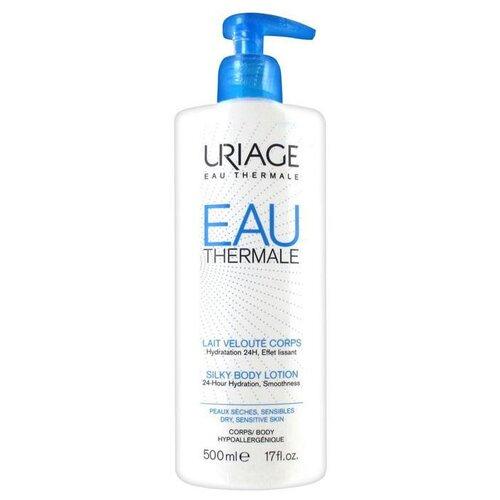 Молочко для тела Uriage Eau Thermale увлажняющее для тела, бутылка, 500 мл урьяж мицеллярная вода очищающая для кожи склонной к покраснению 250 мл uriage гигиена uriage