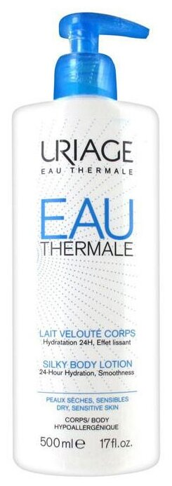 Молочко для тела Uriage Eau Thermale увлажняющее