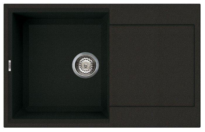 Врезная кухонная мойка elleci Easy 300 metaltek 79х50см искусственный гранит
