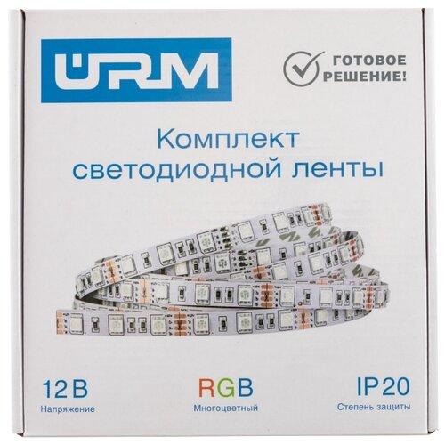 Светодиодная лента URM 5050-60led-12V-14.4W-840LM-IP20-RGB 10м 10 м