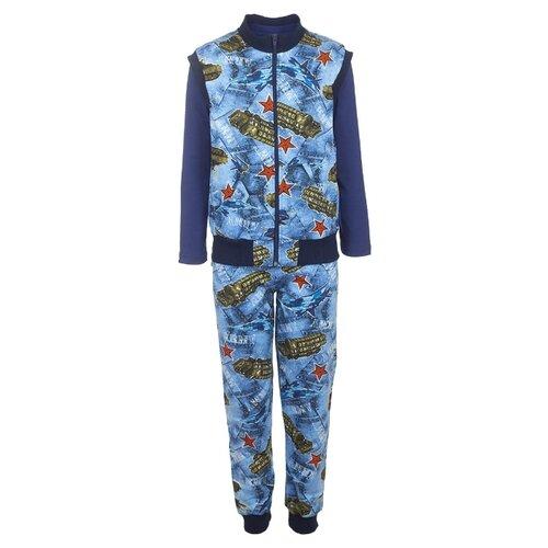 Купить Комплект одежды M&D размер 134, синий, Комплекты и форма
