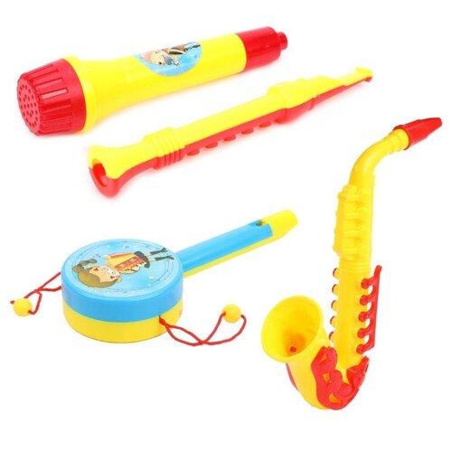 Купить Shantou Gepai набор инструментов My New Band 123, Детские музыкальные инструменты
