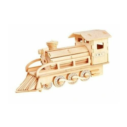 Сборная модель Чудо-Дерево Локомотив (P134) сборная модель чудо дерево кормушка 80099