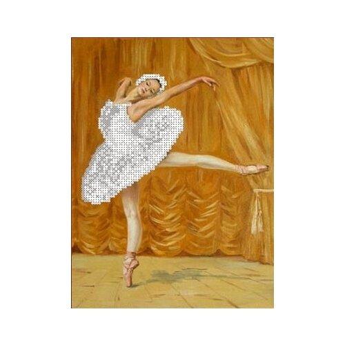 Купить Балерина Рисунок на ткани 18х26 Каролинка ТКБЛ 4025, Канва