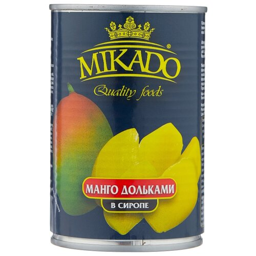 Mikado Манго дольками в сиропе 420 г бомбарда mikado медленно тонущая smtc 24