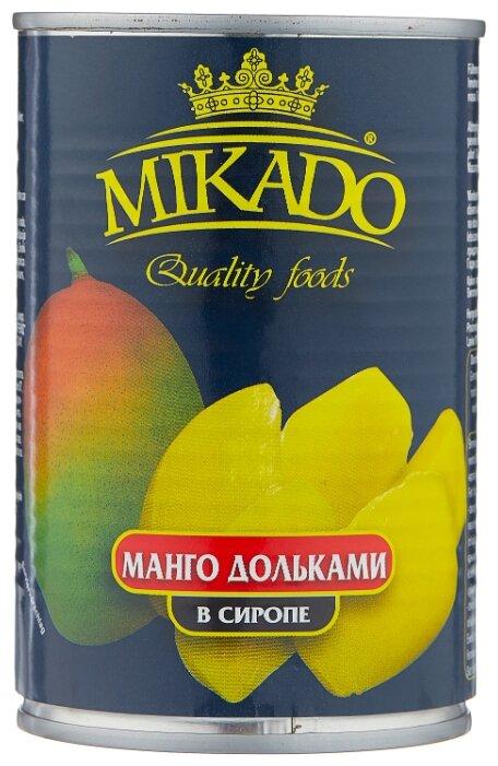 Mikado Манго дольками в сиропе 420 г
