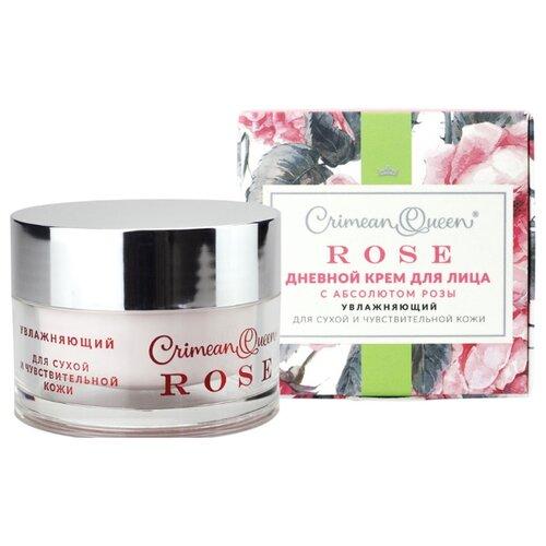 Crimean Queen Rose Крем для лица дневной с абсолютом розы Увлажняющий для сухой и чувствительной кожи, 50 г недорого