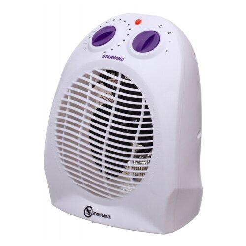 Тепловентилятор STARWIND SHV1001/SHV1005 белый/фиолетовый