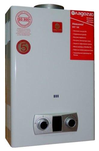 Проточный газовый водонагреватель Ладогаз ВПГ 10Е — купить по выгодной цене на Яндекс.Маркете