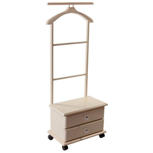Напольная вешалка Мебелик В 23Н слоновая кость напольная вешалка мебелик вешалка напольная в 33н