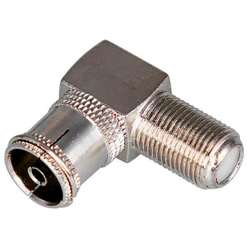 Фото - Переходник REXANT 06-0026-A серебристый грозозащита коаксиального кабеля на f разъем rexant 06 0055 a