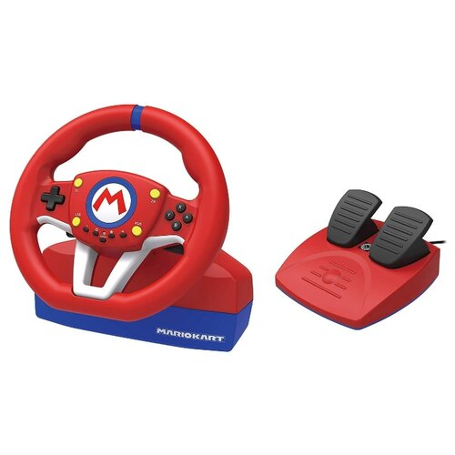 цена на Руль HORI Mario Kart Racing Wheel Pro Mini красный/синий