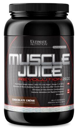 Гейнер Ultimate Nutrition Muscle Juice Revolution (2.12 кг) (ваниль-сливки)
