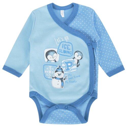 Купить Боди Leader Kids размер 62, голубой