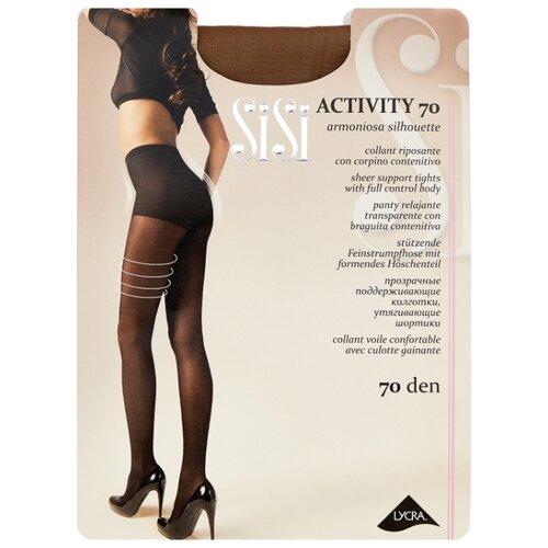 Колготки Sisi Activity 70 den, размер 4-L, daino (коричневый) колготки sisi activity 70 den