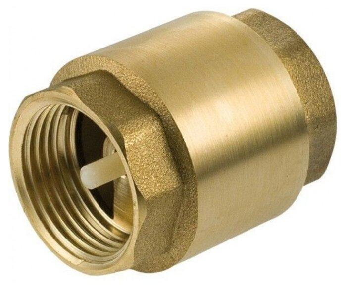 Обратный клапан одностворчатый GEKON GK30112 муфтовый (ВР/ВР), латунь
