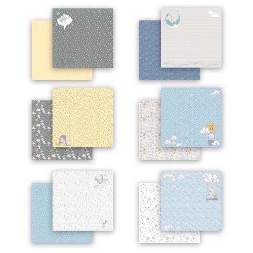 Купить Бумага Mr. Painter 30, 5x30, 5 см, 7 листов, MTY-PSR-K 190601 Наш малыш. Мальчик бежевый/голубой, Бумага и наборы