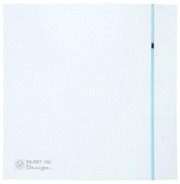Вытяжной вентилятор Soler & Palau SILENT-100 CZ DESIGN 3C 8 Вт