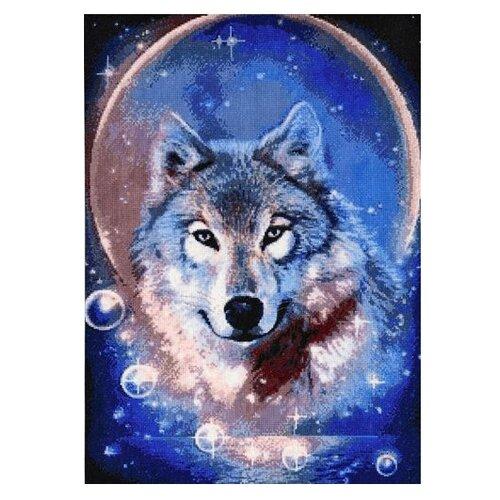 Купить Hobby & Pro Набор для вышивания Дух волка 31 х 43 см (705), Наборы для вышивания