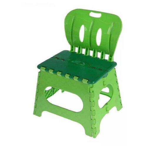 Табурет ТРИКАП со спинкой зеленый/салатовый