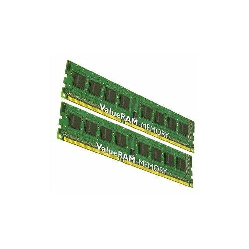 Оперативная память Kingston ValueRAM 16GB (8GBx2) DDR3 1600MHz DIMM 240-pin CL11 KVR16N11K2/16