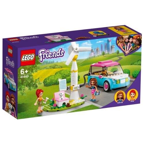 Купить Конструктор LEGO Friends 41443 Электромобиль Оливии, Конструкторы