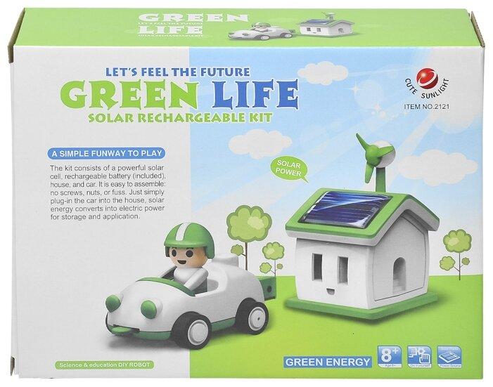 Конструктор CuteSunlight Toys Factory 2121 Green Life фото 1