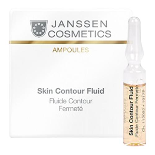 Сыворотка Janssen Cosmetics Skin contour fluid Anti-age лифтинг (3 шт.), 2 мл janssen cosmetics anti age лифтинг сыворотка с пептидами 7х2 мл janssen cosmetics ампульные концентраты