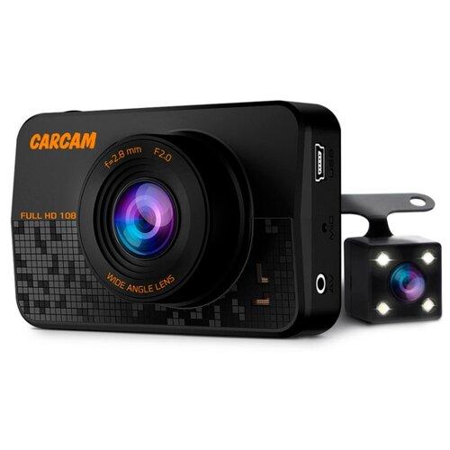 Видеорегистратор CARCAM D1, 2 камеры черный