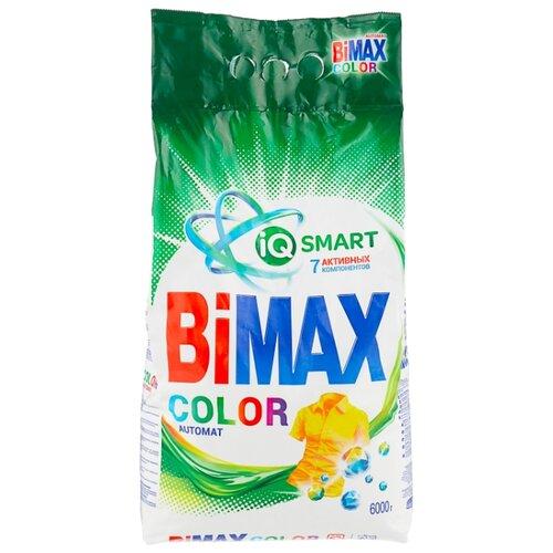 Стиральный порошок Bimax 100 цветов Color Compact (автомат) 6 кг пластиковый пакет