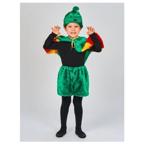 Купить Костюм Радомир Дракон (С1021), зеленый, размер 104-134, Карнавальные костюмы