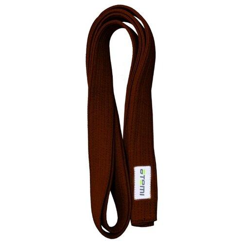 Пояс для кимоно ATEMI AKB01 280 см коричневый